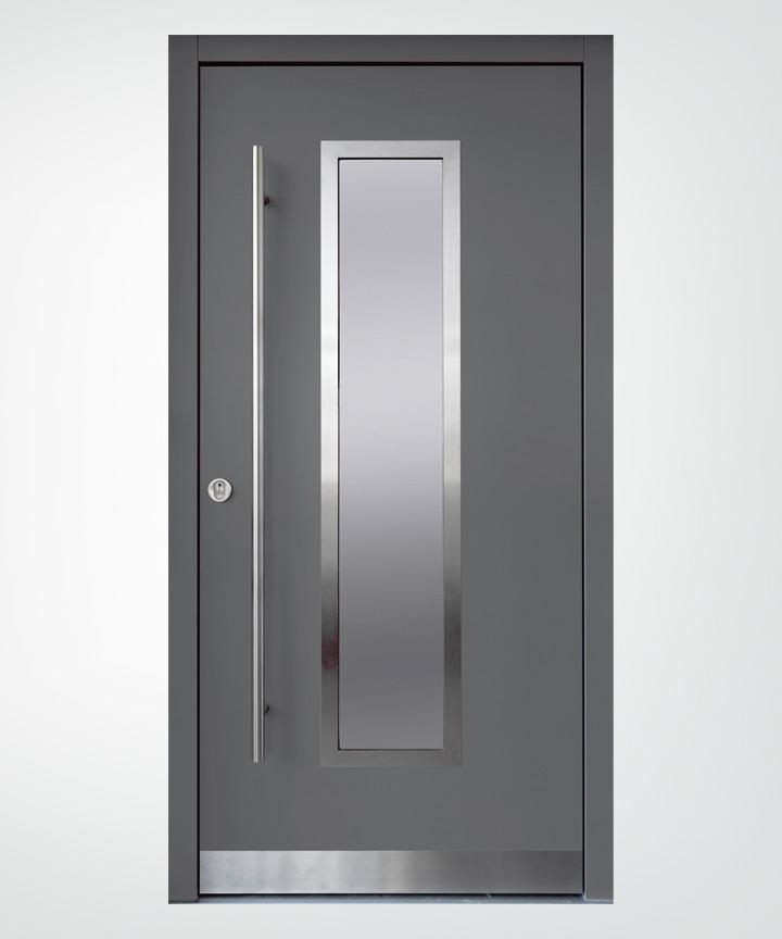 TALE - bestechend einfache Türe mit zentriertem Lichtausschnitt ...